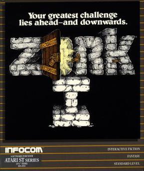 Zork I cover art