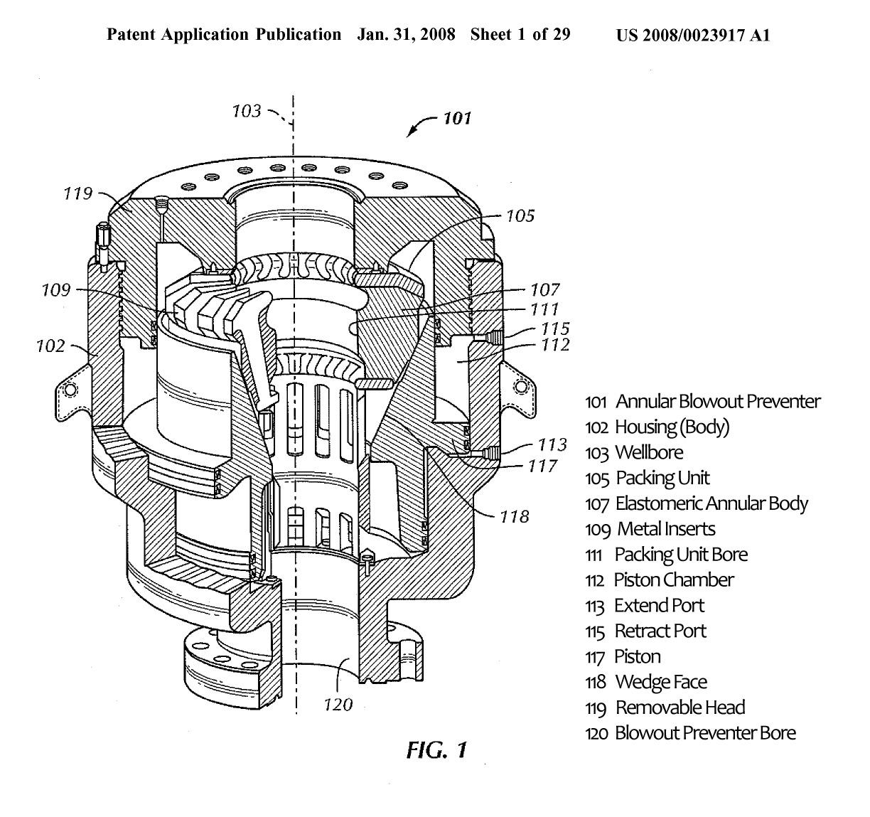 File Hydril Annular Bop Patent App