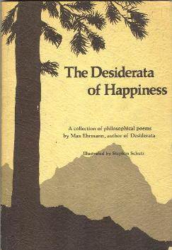1976 edition of The Desiderata of Happiness po...