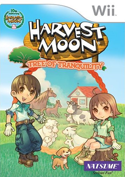 Harvest Moons first game on the Wii