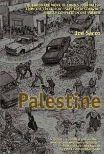Cover of Sacco's Palestine (2001)