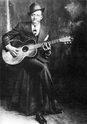 storia della chitarra blues