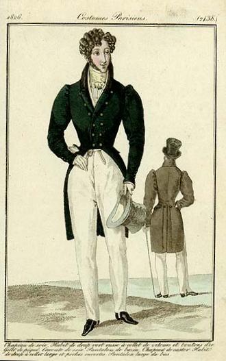 Istorija odevnih predmeta - Page 7 Mens_fashion_plate_1826_2