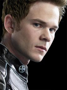 "Shawn Ashmore as ""Iceman"" in the X-Men trilogy"
