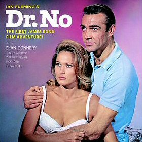 Cover of the soundtrack of the film Dr. No, in...