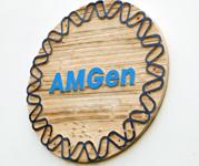 AMGen Corporate Logo, 1983
