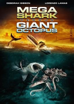 Region 1 DVD cover for the 2009 film Mega Shar...
