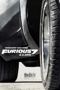Poster for 2015 action sequel Fast & Furious 7