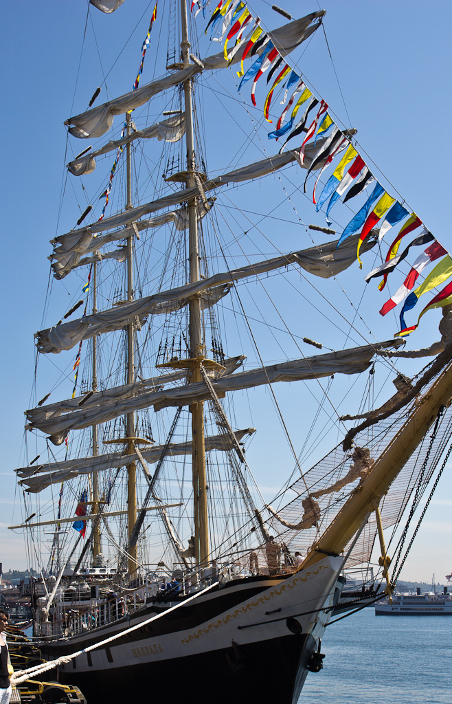 photo of the russian ship Pallada