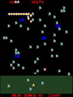 Screenshot of Millipede