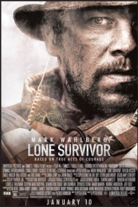 Poster for 2014 war movie Lone Survivor