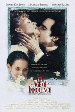 Film poster for The Age of Innocence (film) - ...