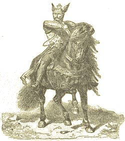 El Cid, fanciful engraving