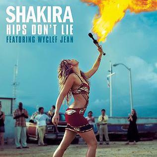 """Résultat de recherche d'images pour """"shakira hip don't lie"""""""