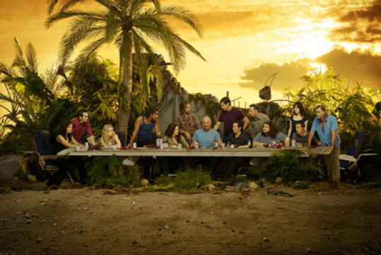 Lost - Last Supper scene