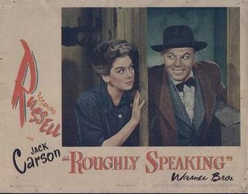 File:Poster of the movie Roughly Speaking.jpg
