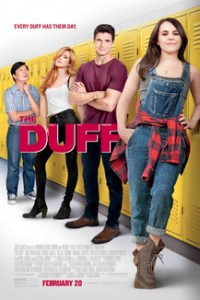 Poster for 2015 romantic comedy The DUFF