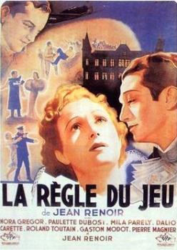 Poster for ''La Règle du jeu, directed by Jean...