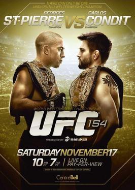 UFC 154 GSP vs Condit