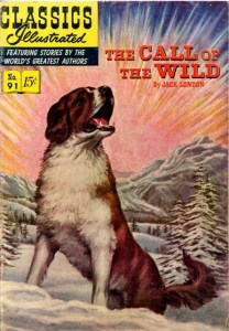 The Call of the Wild   Wikipedia Cover of Classics Illustrated The Call of the Wild  published in 1952