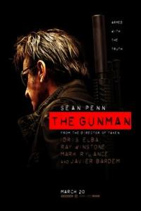 Poster for 2015 action thriller The Gunman