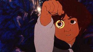 Frodo in Ralph Bakshi's animated version of Th...