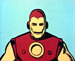 Iron Man on The Marvel Super Heroes animated s...
