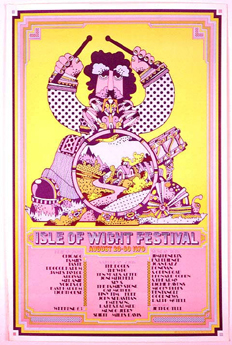 Festival poster, listing artists booked to pla...