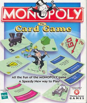 A German version of Monopoly in progress