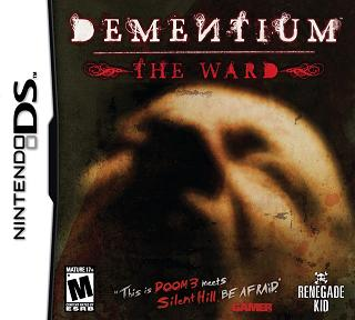 Dementium: The Ward DS game cover art
