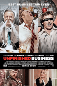 Poster for 2015 comedy Unfinished Business