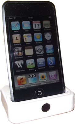 A photo taken of my iPod Touch