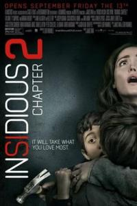 Poster for 2013 horror film Insidious: Chapter 2
