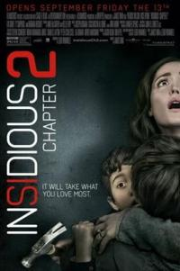 Poster for 2013 horror film Insidious: Chapter 2