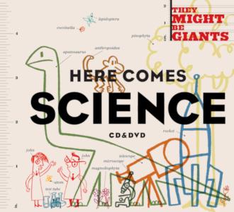 Portada de l'àlbum Here Comes Science