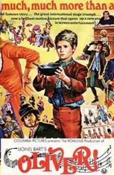 Oliver! musical film poster