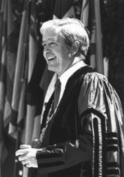 Former Yale University president, Kingman Brew...