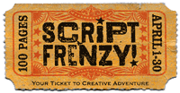 The Script Frenzy logo
