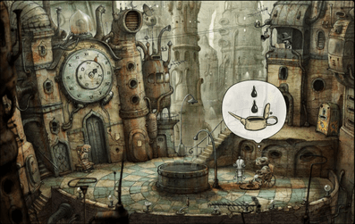 A sample of Machinarium