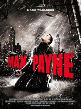 Theatrical release poster for the Max Payne fi...