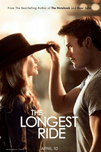 Poster for 2015 romantic drama The Longest Ride