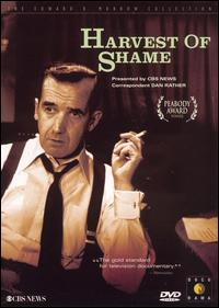 DVD cover of Harvest of Shame