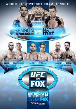 UFC on Fox: Henderson vs Diaz