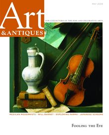 May 2009 cover of Art & Antiques