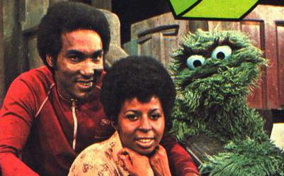File:Sesame Street Hal Miller as Gordon with Susan and Oscar.jpg