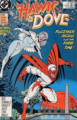 Hawk and Dove: Hank and Dawn. Artwork by Rob L...