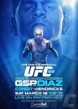 UFC 158: St Pierre vs Diaz