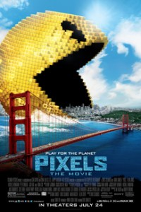 Poster for 2015 action comedy Pixels