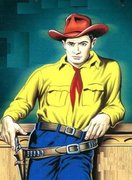 Tex Willer as he appeared in Lion Comics.