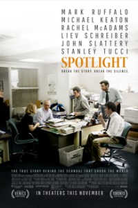Poster for 2016 journalism drama Spotlight